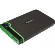 Transcend 1 TB Wired External Hard Disk Drive(Green, Iron Gray)