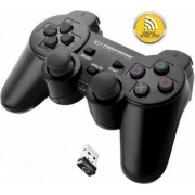 Controller Esperanza Gladiator EGG108W, Wireless, PC/PS3 (Negru)