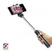 SBS Mobile Bluetooth Tripod Selfie Stick met Knop - Zwart