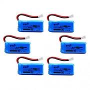 BTG 500mAh 3.7V Upgrade Battery for F180C JJRC H37 H6D H6C H43WH H31 Hubsan X4 H107C H107D H107L H107P H108 JXD392 388 Wltoys V939 V252 UDI U816A Walkera Super CP Mini CP Genius CP