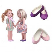 Colourful spring 2set+2shoes for 14.5inch Wellie Wisher Dolls by MSDS