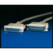 ROLINE 11.01.1018 :: Принтерски кабел, D25M/C36M, 1.8 м, монолитен, 25 проводника