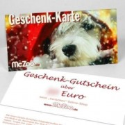 Pet-Star McZoo Geschenk-Gutschein Hundemotiv - 50 Euro