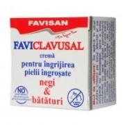 Crema pentru ingrijirea pielii ingrosate, negi & bataturi l001 10ml FAVISAN