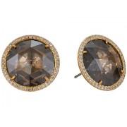 Kate Spade New York She Has Spark Studs Earrings Gold Quartz