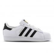 adidas Originals Superstar Leather - Kinderen Platte Sneakers