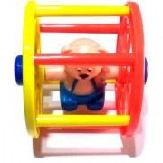 Nawani Rolling Toy for Infants. Roll It Ahead and It Will Come Back to You Size- 9x9 cm