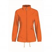 B&C Oranje koningsdag jas voor dames