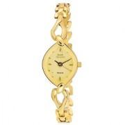Hwt Mark Regal Oval dial Gold Plated Women watch