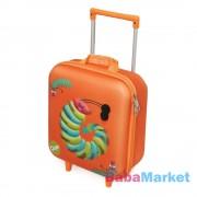 Oops Húzható mini bőrönd, 28 cm - hernyó