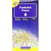 Kümmerly + Frey - Kümmerly & Frey Karten, Frankreich, Doppelkarte Nord und Süd: Doppelkarte Nord u. Süd: Indexed (International Road Map) - Preis vom 18.10.2020 04:52:00 h