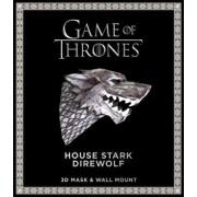 Game of Thrones Mask: House Stark Direwolf (3D Mask & Wall Mount), Paperback/Wintercroft