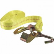 SmartStraps Ratchet Tie-Down Strap - 2 Inch x 27ft., with Cluster Hooks, 10,000-Lb. Breaking Strength, Model 4552