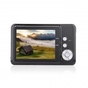 """amkov CD-FE 2.7 """"TFT 5MP CMOS gran angular camara digital con zoom digital 8X con ranura SD - negro"""