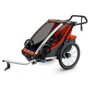 Thule Remolques y carritos Thule Chariot Cab 1 + Kit De Bici Orange