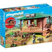 Playmobil 6936 Ranger Station With Animal Area