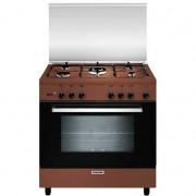 Glem Gas A855gc Cucina 80x50 5 Fuochi A Gas Forno A Gas Con Grill Elettrico 95 L
