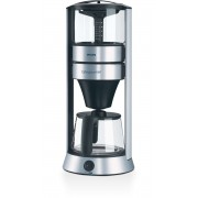 Cafetiera Philips HD5410/00, 1250 W, 1.1 l, Bol sticla, Aluminium