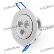 3W 2700K 270-lumen 3-LED lampara de techo de luz blanca calida (AC 220 ~ 240V)