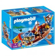 Playmobil Treasure with Transporter Rowboat