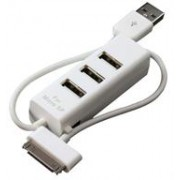 Geeko iPhone USB 2.0 HUB and Charger, Retail Box,