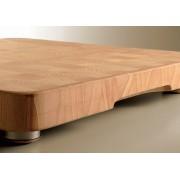 CUCINEOGGI TABLA DE COCINA DE CORTE NOVEDAD - Tabla de madera con patas MEDIDAS (450 x 450 x 50 mm)