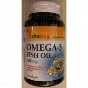 Vitaking omega-3 halolaj gélkapsz. 1200
