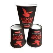 Pahar carton 8oz Pelican Rouge 50buc