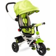 Tricicleta copii reversibila si pliabila Toyz Wroom Green