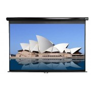 "SCREEN, Elite Screens M84UWH, Manual, 84"" (16:9), 185.4 x 104.1 cm, Black (M84UWH)"