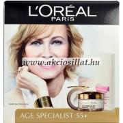 L'oréal Age Specialist 55+ Ajándékcsomag ( ránctalanító+sminklemosó)