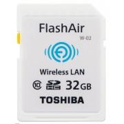 Toshiba SDHC FLASH AIR WIFI 32GB CLASSE 10 - WIRELESS CARD