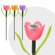 LED-es szolár tulipánlámpa 44 cm