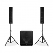 "VX880BT Set di Altoparlanti Attivi 2.1 1000 W 15"", 2 x 8"", USB/SD/MP3/BT"