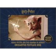 Harry Potter and the Chamber of Secrets Enchanted Postcard Book, Paperback/***
