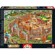 Educa 16343 - Middle Ages - 1000 pieces - Stories of the History Puzzle by Educa