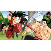kid goku training sticker poster|dragon ball z poster|anime poster|size:12x18 inch|multicolor