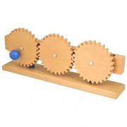 Simple Wooden Machine: Gear Train Model, (3853)