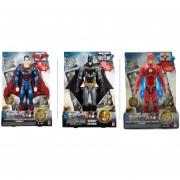 Liga de Justcia Superman Batman Flash Luces Sonido Mattel
