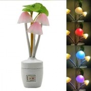 ZARSA Color Changing LED Mushroom Night Lamp Light with Switch