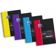 Caiet cu spirala A4+ OXFORD Student Projectbook 100 file-90g-mp 4 perf. coperta PP - mate