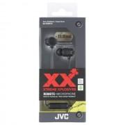 JVC Auricolare Originale Stereo Extreme Xplosives Bass Ha-Fr202-B In-Ear Black Per Modelli A Marchio Apple