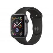 Умные часы APPLE Watch Series 4 44mm Space Grey Aluminium Case with Black Sport Band MU6D2RU/A