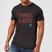 Football Camiseta Fútbol Inglaterra Three Lions - Hombre - Negro - M - Negro