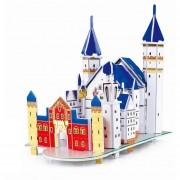 3D Estéreo Jigsaw Mini-World Edificio Modelo Puzzle Rompecabezas Infan