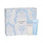 Dolce&Gabbana Light Blue dárková kazeta pro ženy toaletní voda 25 ml+ tělový krém 50 ml