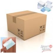 SLT Carton de 1400 gants de toilette jetables plastifiés 50g/m² - 155 x 230 mm