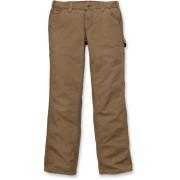 Carhartt Original Fit Crawford Pantalones de las mujeres Beige 43