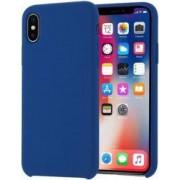 Husa Senno Neo Full Silicone pentru Apple iPhone X sau XS Blue