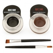 ADS Long Lasting Gel Eye liner (Smudge-Proof) Multicolor 3g Each (No of units 1)
